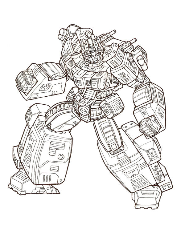 Transformers G1 Coloring Coloring Pages