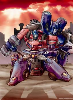 TFAnimated Prime Magnus
