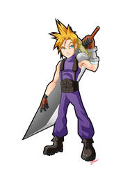 Final Fantasy 7 - Cloud