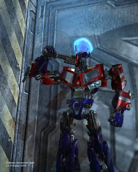 TFA Optimus Prime Movie Style