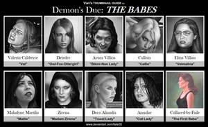 Van's THUMBNAIL GUIDE to Demon's Due: THE BABES