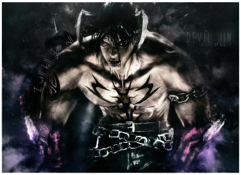 Devil Jin by isacmodesto on DeviantArt