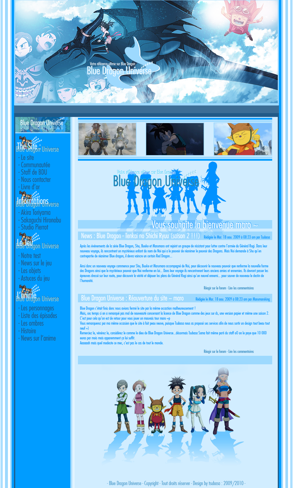 Tsubasa Style Webdesign_Blue_Dragon_Universe_by_Tsubasart