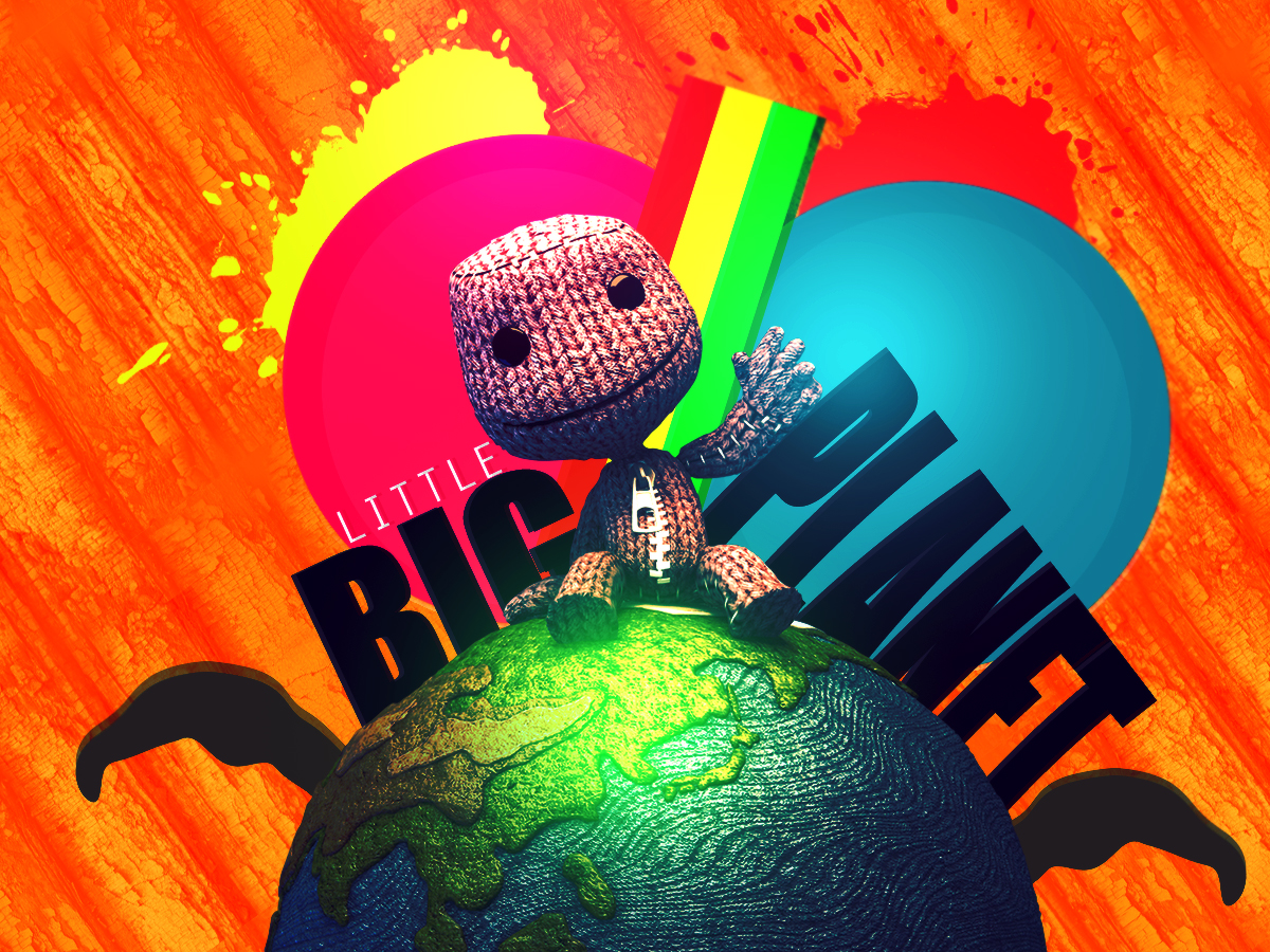 wallpaper little big planet by tsubasa974 on deviantart