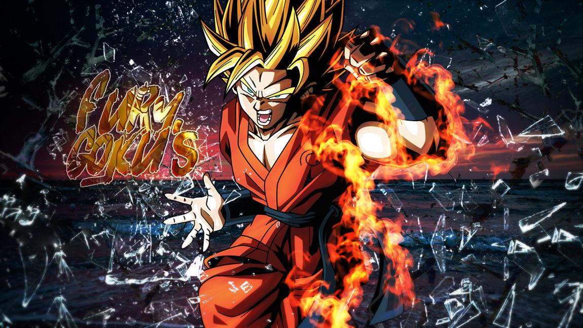 Goku's Fury