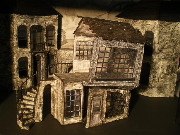 Set Design for Sweeney Todd 2 by TunaandCheese on DeviantArt on outside of beach house, outside of house wallpaper, outside of house plans, outside of house drawing, out house design, dining room design, cleaning design, inside of house design, outside of house decorations,