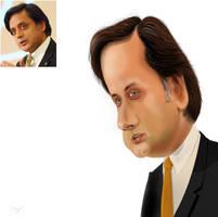 Shasi Taroor by 5ree