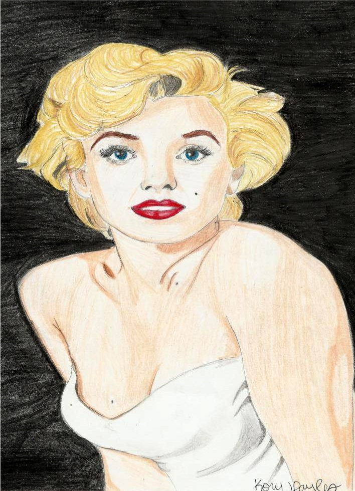Marilyn Monroe by NatchezArtist