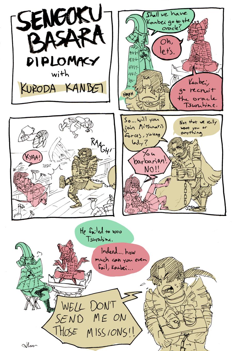 Sengoku Basara Diplomacy by Raakelh