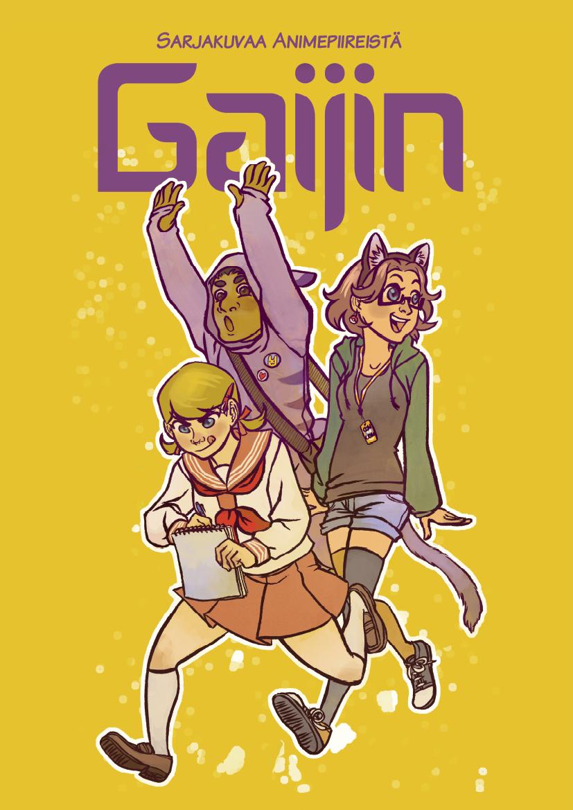 Gaijin Cover by Raakelh