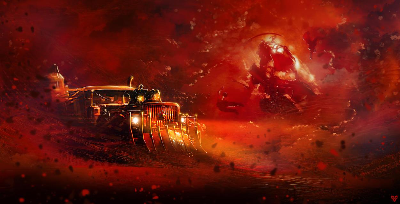 Mad Max by VikArachnid