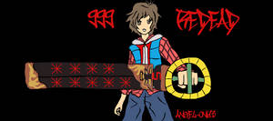 999 - REDEAD Keyblade by angel-oni13