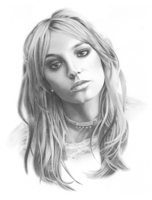Britney Spears Drawing by golfiscool