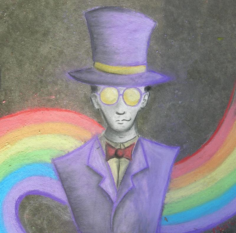 Chalk Warden by blackbubbletea