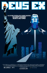 Deus Ex Poster by egoyette