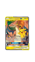 Pikachu and Charizard GX Concept Card