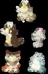Meowth Variations