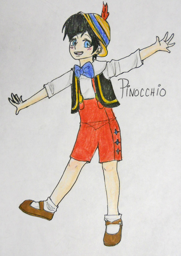 Human Pinocchio