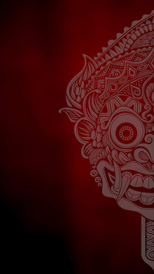 barong mask 2 wallpaper by vezosxgarden on deviantart barong mask 2 wallpaper by vezosxgarden