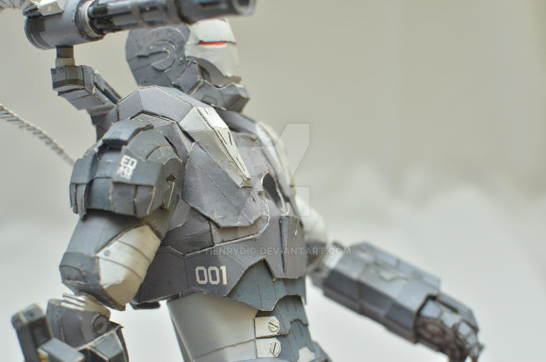 Iron Man War Machine - Body by henrydig