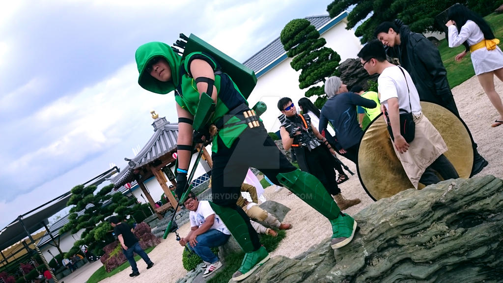 Green Arrow New 52 by henrydig