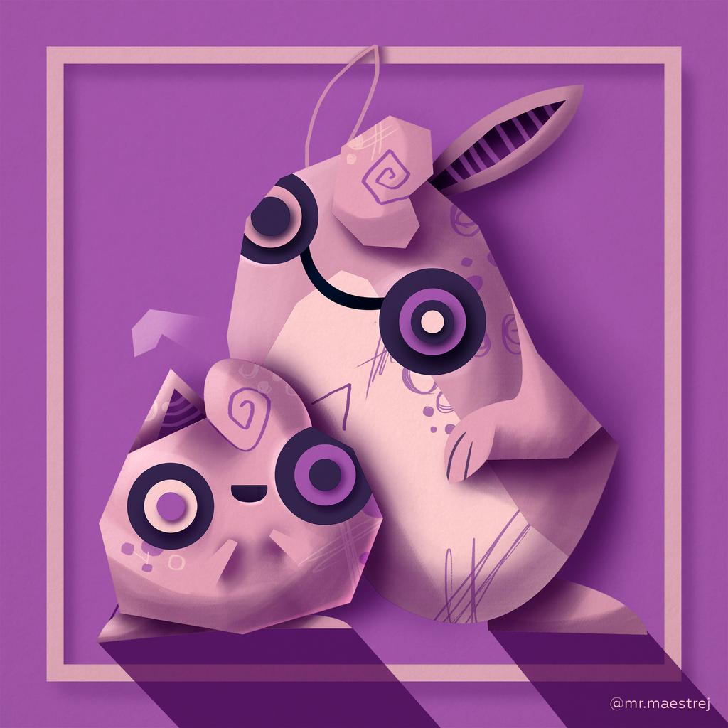jigglypuff and wigglytuff by mrmaestrej on deviantart