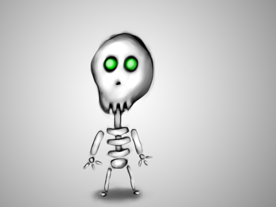 Skeleton by StevenZer