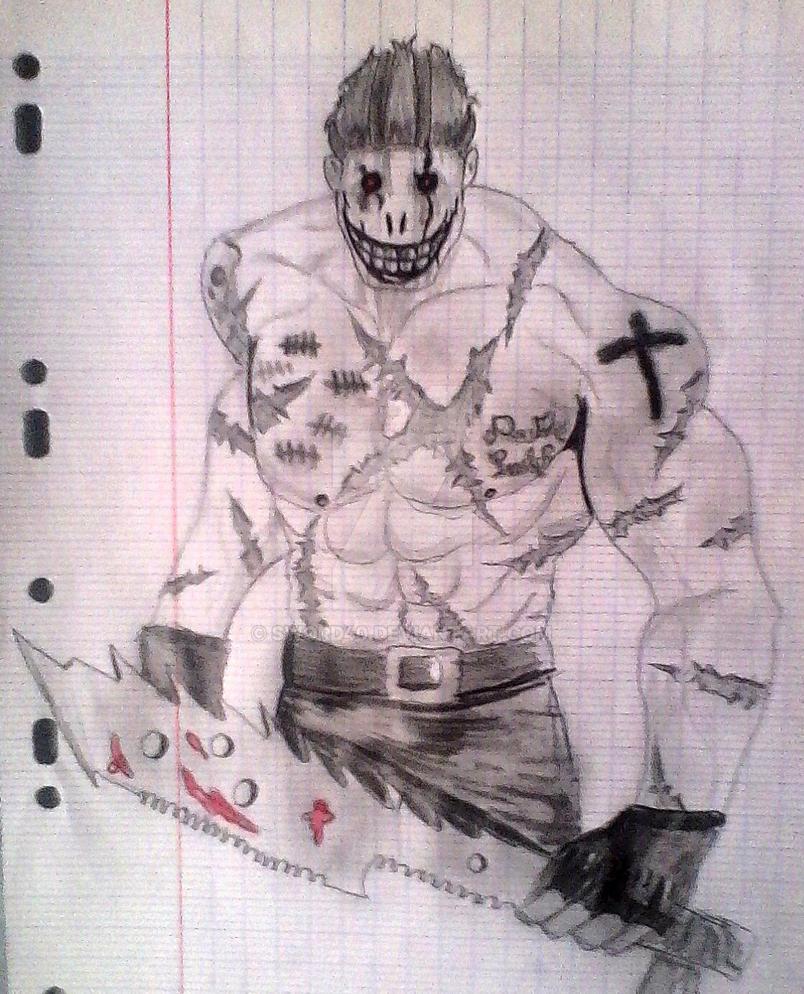 Death Smile, My psychopath OC by sword40