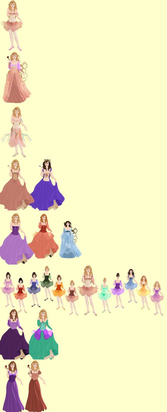 Barbie Princess Movies By Foreverbeginstoday