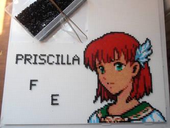 Priscilla From Fire Emblem by Valijka