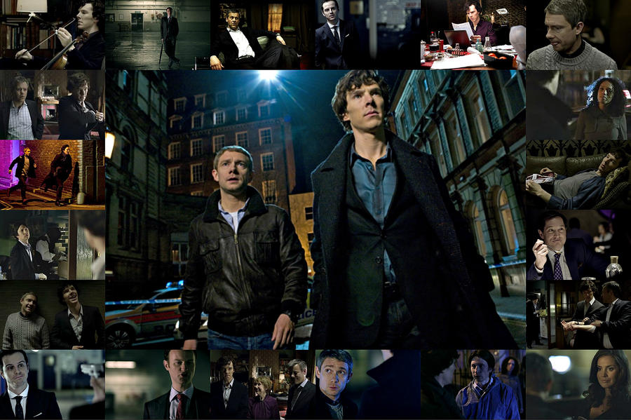 Go Back > Gallery For > Sherlock Collage Tumblr