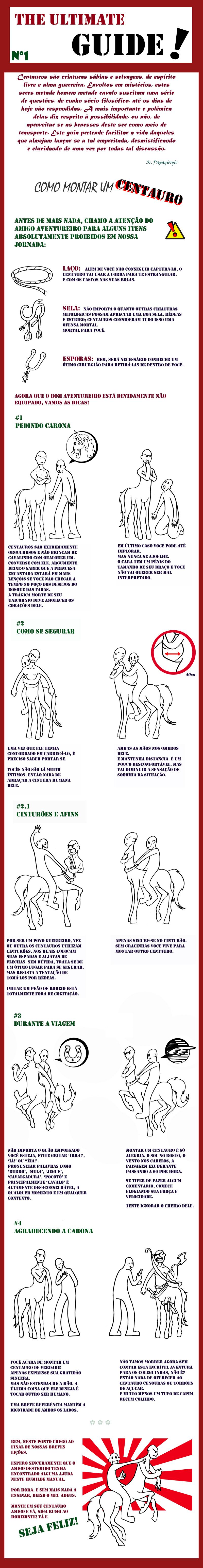 Como montar um Centauro