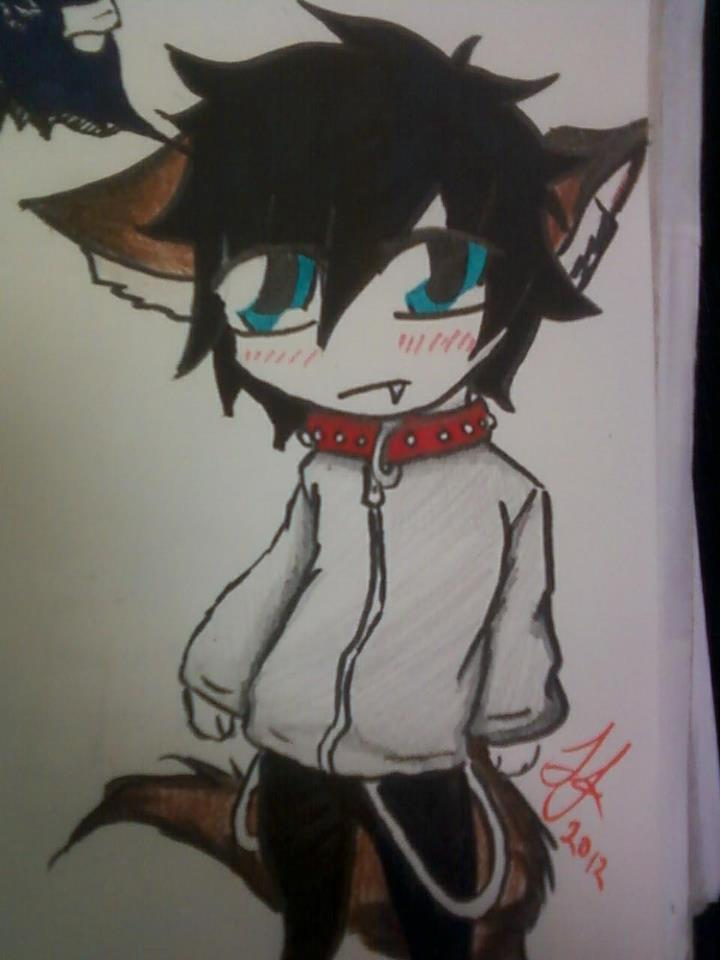 Anime Wolf Boy Chibi Wolf Boy Chibi by
