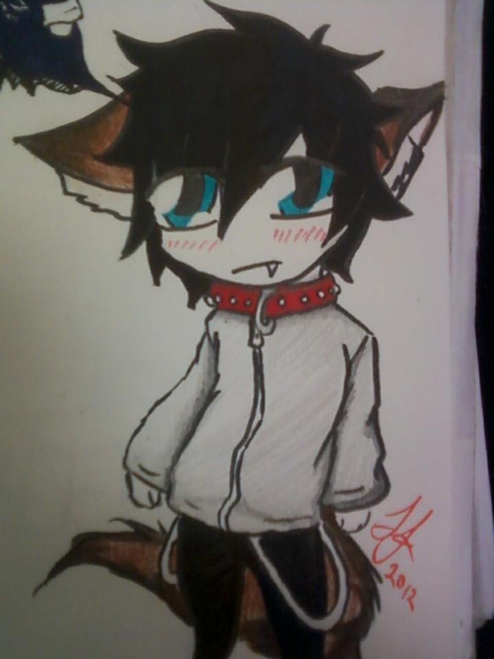 Wolf Boy Chibi By RoseWolf-Shifter On DeviantArt