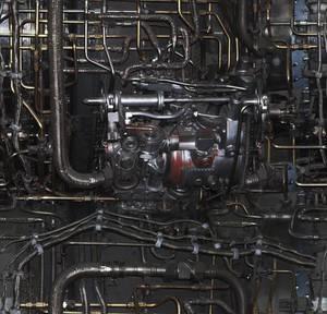 Seamless engine texture