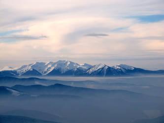 Carpathians view 1 by Ribtoks