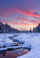 Winter Burning Sky by DeingeL