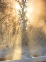 Winter Rays by DeingeL