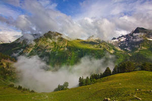 Over The Clouds by DeingeL