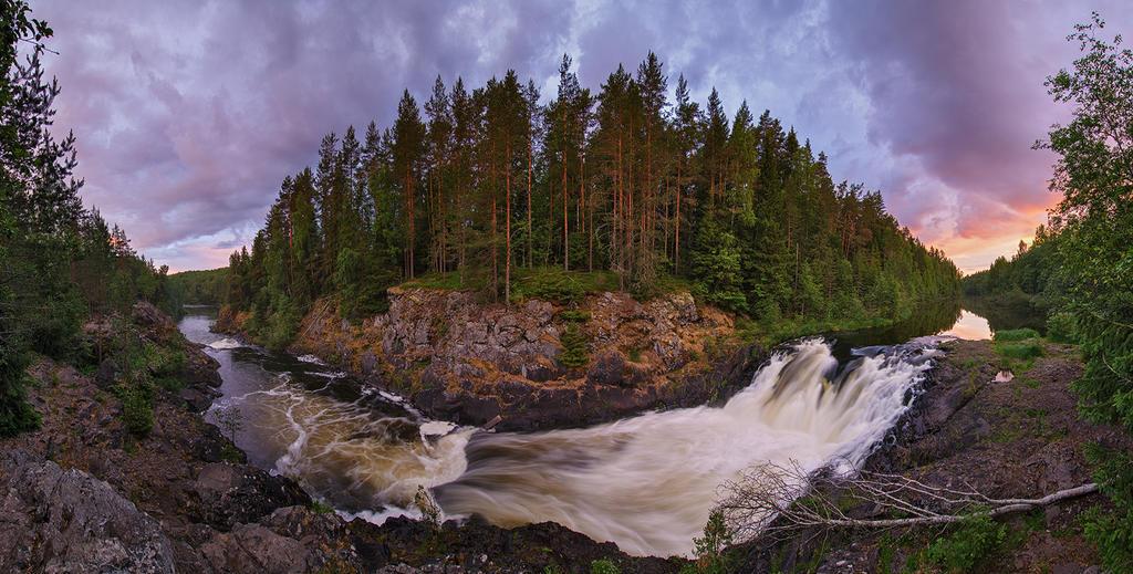 Kivach Panorama by DeingeL