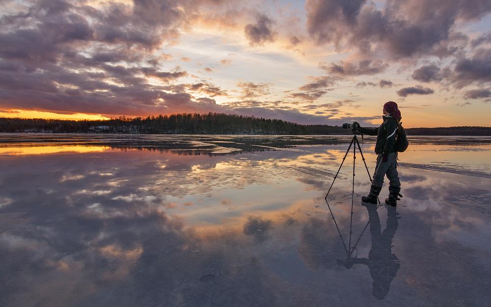 Mirror lake by DeingeL