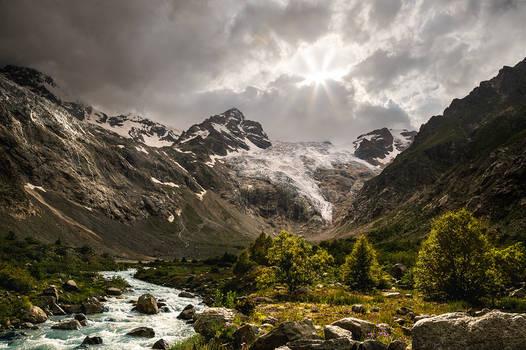 Tana glacier
