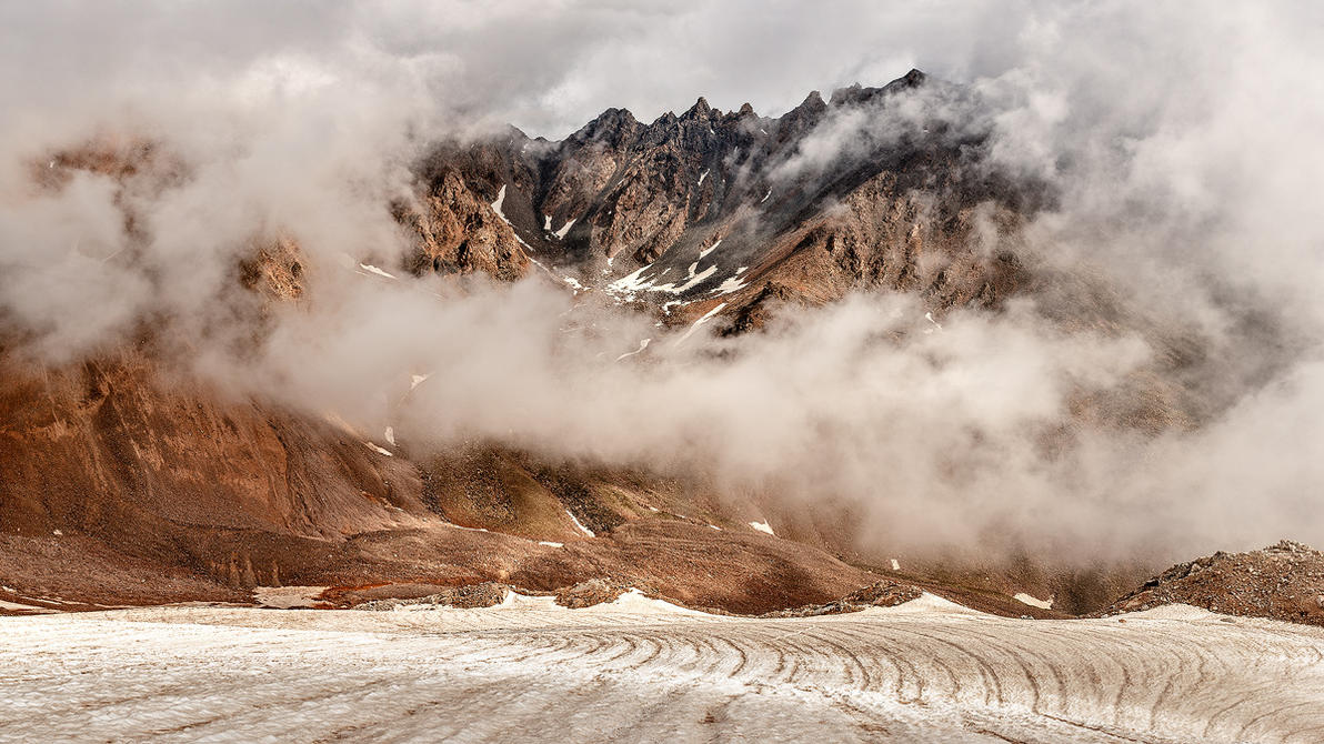 On the Glacier by DeingeL