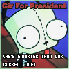 Gir 4 President by goodmorningstarshine