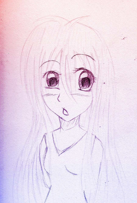 Ex Half Body Sketch Commision By XAyameKumoya On DeviantART