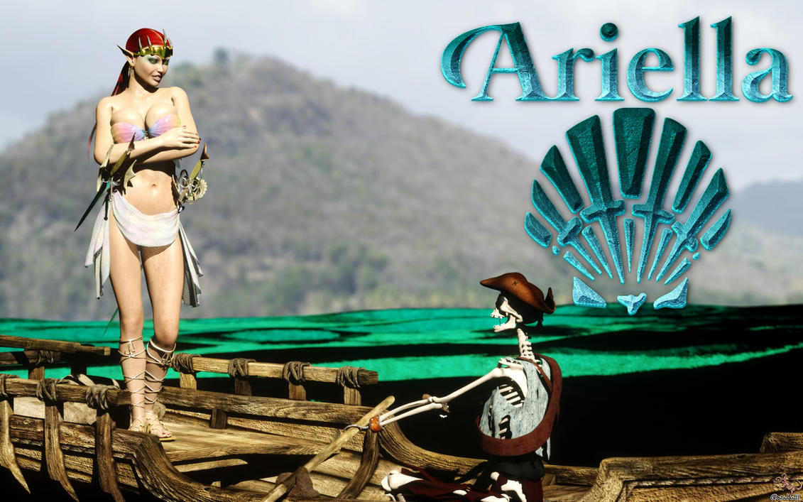 OC FIGHTER:  Ariella by gazukull