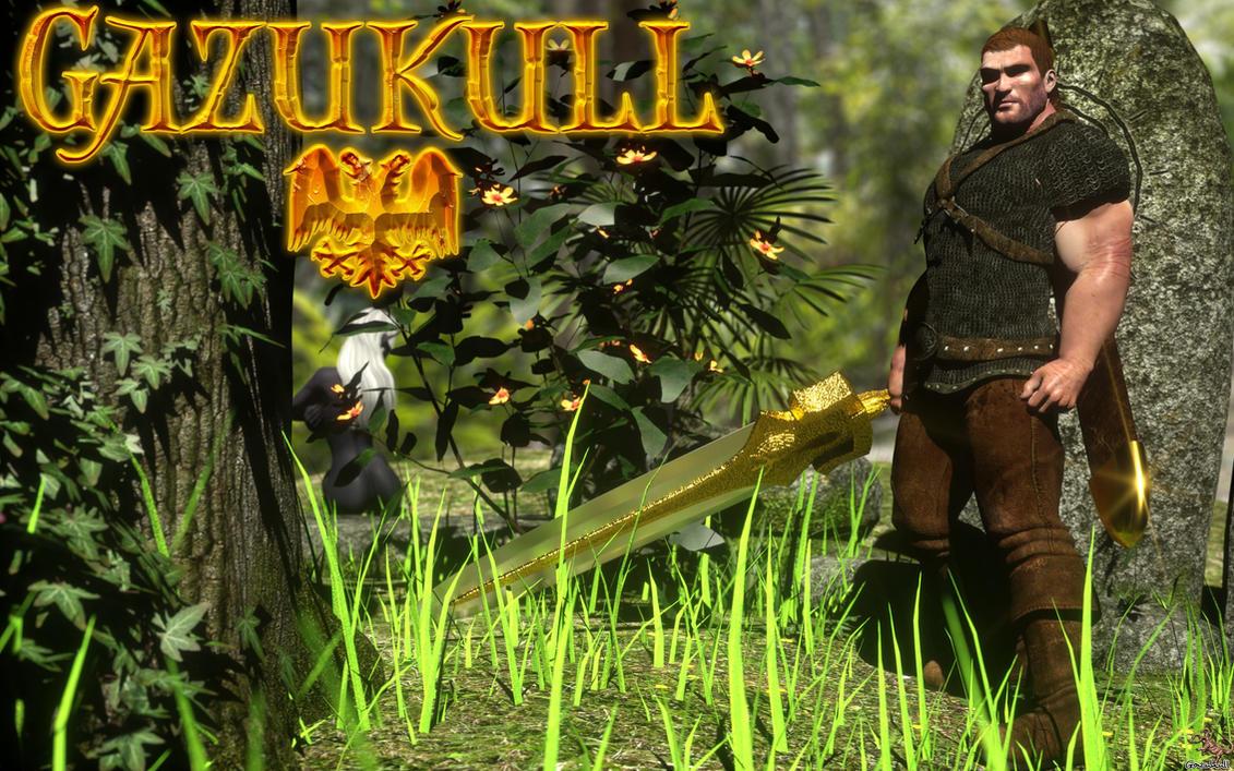 OC FIGHTER: GAZUKULL!!! by gazukull