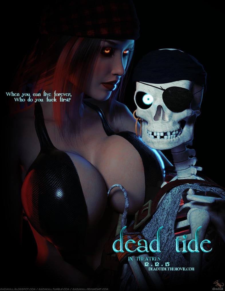 Dead Tide Movie Poster by gazukull