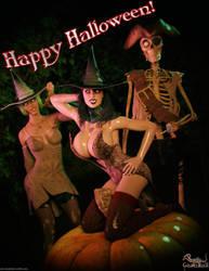 Happy Halloween 2017! by gazukull