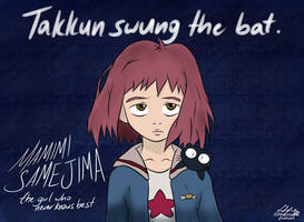 He Swung the Bat, Mamimi by Sylverstone14